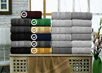 Набор полотенец Gulcan Cotton 70x140 - 6 шт. - 8541-02