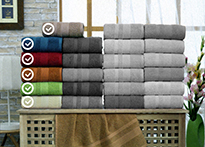 Набор полотенец Gulcan Cotton 70x140 - 6 шт. - 8541-03