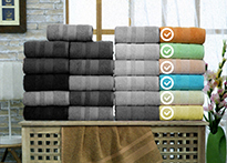 Набор полотенец Gulcan Cotton 70x140 - 6 шт. - 8541-01