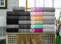 Набор полотенец Gulcan Cotton 50x90 - 6 шт. - 8540-04